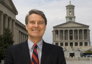 Roy Herron at the Tennessee State Capitol in Nashville. A UMNS photo by Mike DuBose